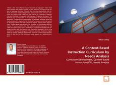 A Content-Based Instruction Curriculum by Needs Analysis kitap kapağı
