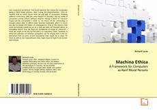 Bookcover of Machina Ethica