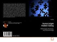 Human Insight Problem Solving的封面