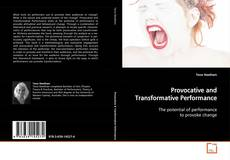 Buchcover von Provocative and Transformative Performance