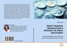 Bookcover of INDIA'S FINANCIAL LIBERALIZATION