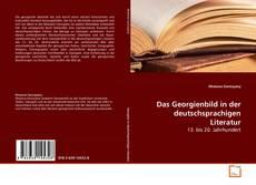 Das Georgienbild in der deutschsprachigen Literatur kitap kapağı