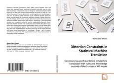 Portada del libro de Distortion Constraints in Statistical Machine Translation