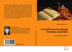 Bookcover of Successful Second Language Vocabulary Acquisition
