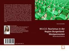 Portada del libro de M.I.C.E.-Tourismus in der Region Burgenland-Westpannonien