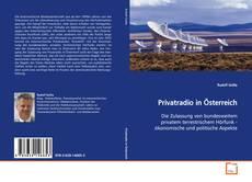 Bookcover of Privatradio in Österreich