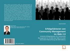 Обложка Erfolgsfaktoren von Community Management im Web 2.0