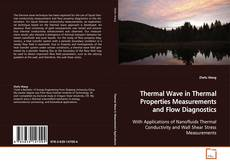 Bookcover of Thermal Wave in Thermal Properties Measurements and Flow Diagnostics