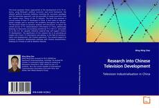 Buchcover von Research into Chinese Television Development