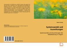 Capa do livro de Systemwandel und Auswirkungen