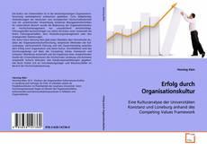 Couverture de Erfolg durch Organisationskultur