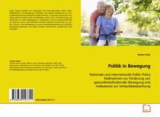 Portada del libro de Politik in Bewegung