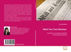 Buchcover von Mind Your Own Business: