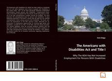 Bookcover of The Americans with Disabilities Act and Title I