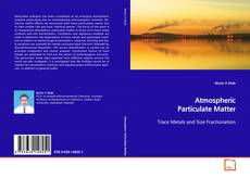 Bookcover of Atmospheric Particulate Matter