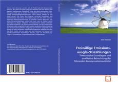 Обложка Freiwillige Emissions- ausgleichszahlungen
