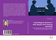 Bookcover of Psychological distress in deaf people with hearing identities