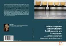 Rollenmanagement trifft Privatsphäre: Problempunkte und Konsequenzen kitap kapağı