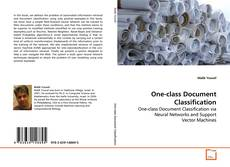 Couverture de One-class Document Classification
