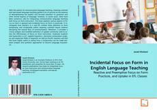 Buchcover von Incidental Focus on Form in English Language Teaching
