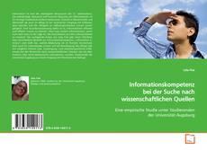 Borítókép a  Informationskompetenz bei der Suche nach wissenschaftlichen Quellen - hoz