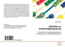 Bookcover of Methoden zur Kreditwürdigkeitsprüfung