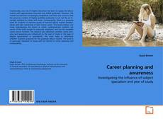 Bookcover of Career planning and awareness