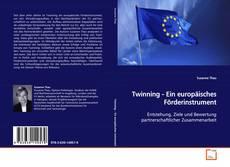 Capa do livro de Twinning - Ein europäisches Förderinstrument