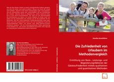 Capa do livro de Die Zufriedenheit von Urlaubern im Methodenvergleich
