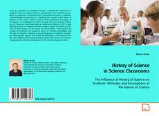 Copertina di History of Science in Science Classrooms