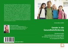 Capa do livro de Gender in der Gesundheitsförderung