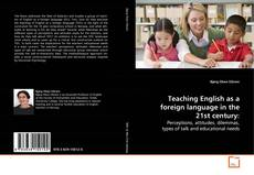 Bookcover of Teaching English as a foreign language in the 21st century: