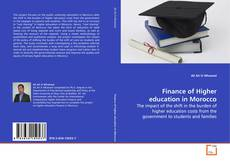 Borítókép a  Finance of Higher education in Morocco - hoz