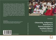Couverture de Citizenship, Indigenous Autonomy