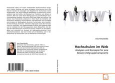 Bookcover of Hochschulen im Web