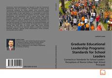Bookcover of Graduate Educational Leadership Programs: Standards for School Leaders