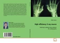 Couverture de High efficiency X-ray source