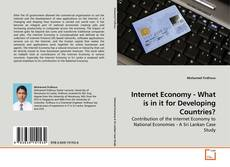 Buchcover von Internet Economy - What is in it for Developing Countries?