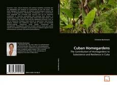 Capa do livro de Cuban Homegardens