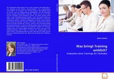 Bookcover of Was bringt Training wirklich?