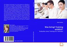 Capa do livro de Was bringt Training wirklich?