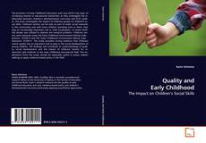 Buchcover von Quality and Early Childhood