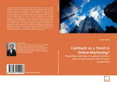 Обложка Cashback as a Trend in Online-Marketing?