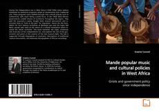 Buchcover von Mande popular music and cultural policies in West Africa