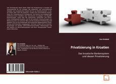 Bookcover of Privatisierung in Kroatien