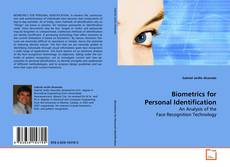 Bookcover of Biometrics for Personal Identification