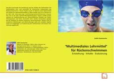 """Couverture de """"Multimediales Lehrmittel"""" für Rückenschwimmen"""
