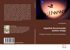 Portada del libro de Hyperlink Recommender Systems Design