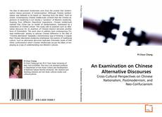 Capa do livro de An Examination on Chinese Alternative Discourses