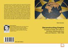 Bookcover of Deconstructing Empire